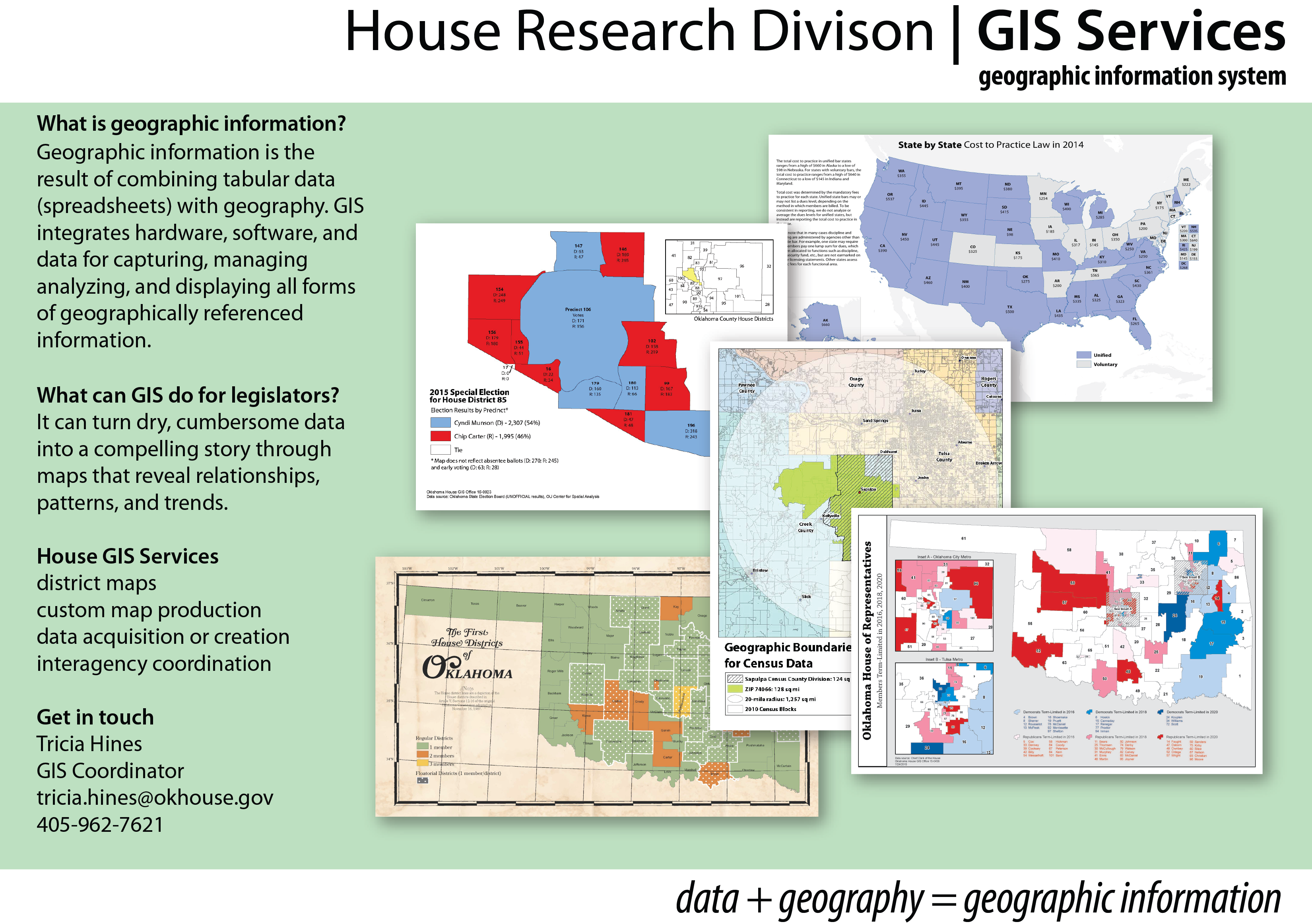 house gis services - oklahoma house of representatives