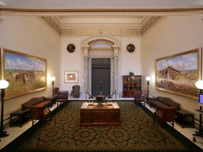 Image 1 of the House of Representatives Lobby